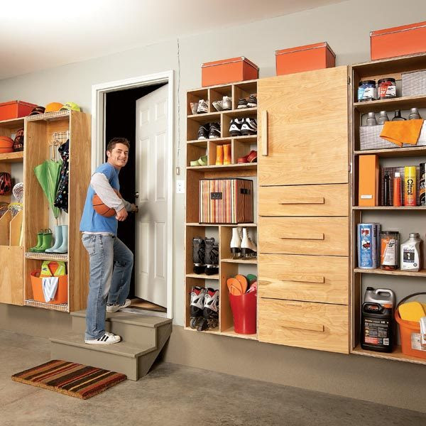 Garage Storage: Backdoor Storage Center - Summary | The Family ...