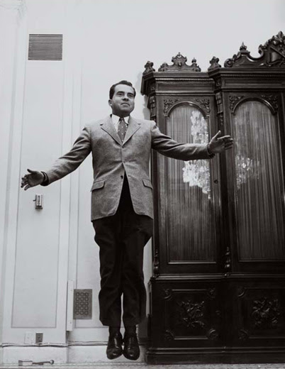 tpp 3 indelible nixon Les sauts de Philippe Halsman  photo photographie featured art