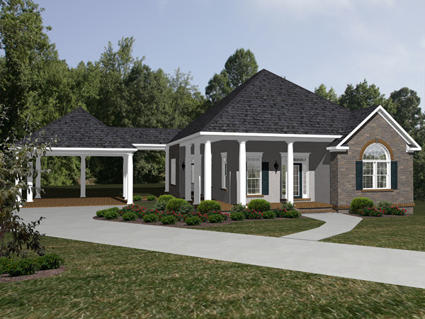 Foxbridge Ranch Home Plan 069D 0115 House Plans and More