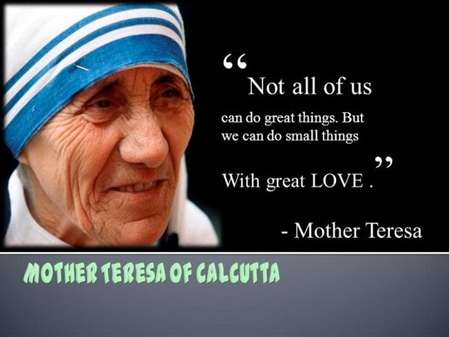 Mother Teresa Authorstream