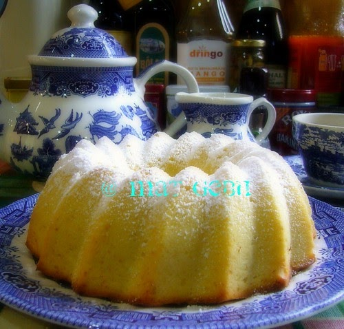 YOGURT MOIST BUTTER CAKE.