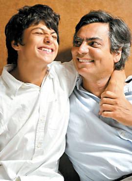 Diogo Mainardi e seu filho Tito