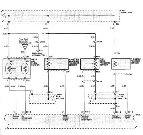2003 Hyundai Santa Fe 2 4 Evap Leak Fuel Tank Pressure Sensor Fault P0451
