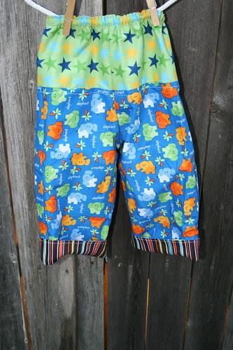 Elephant Pants Back