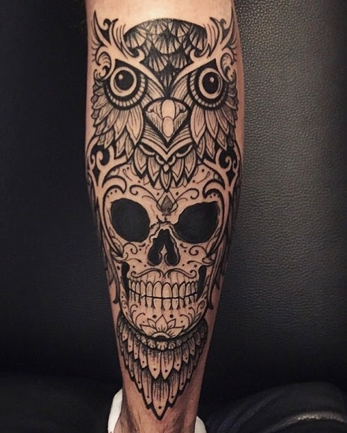 50 Owl And Skull Tattoo Ideas For Your First Ink