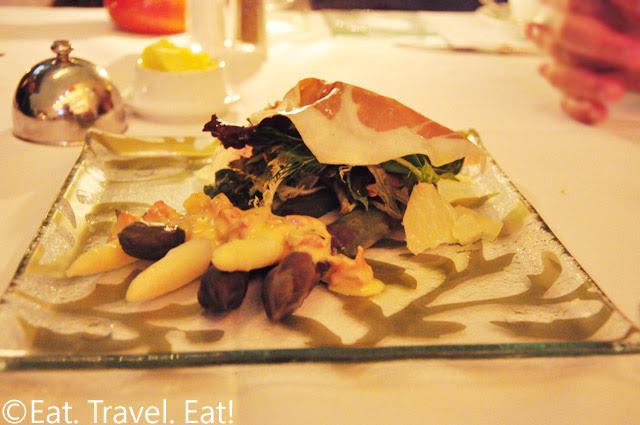 White and Purple Dutch Asparagus