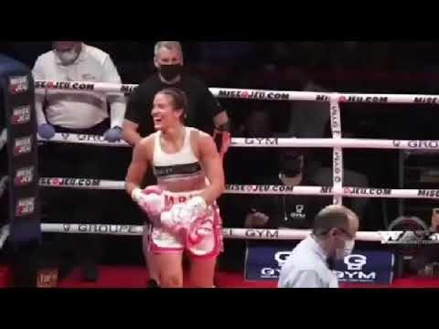 """Ver el vídeo: Boxeadora Jeanette Zacarías Zapata """"La Chiquitaboom"""" muere tras su pelea en Canadá"""