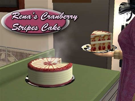 Mod The Sims   4 New Cakes for your Fridge