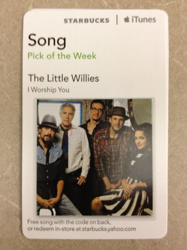 Starbucks iTunes Pick of the Week - The Littles Willies - I Worship You