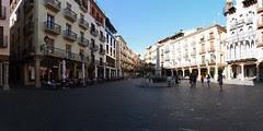 Terol: panoràmica plaça del Torico