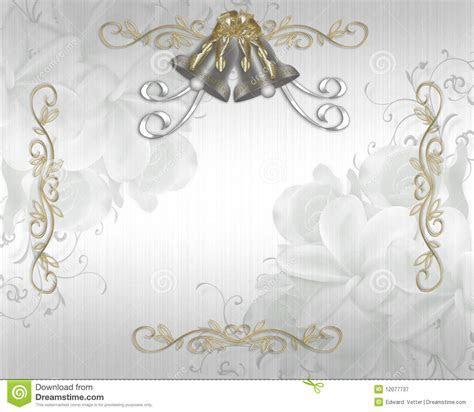 Wedding Invitation Elegant Satin Stock Illustration