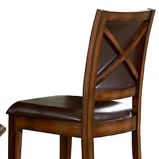 Oxford Creek 24 in. H Stools in Rustic Oak (set of 2) - Furniture ...