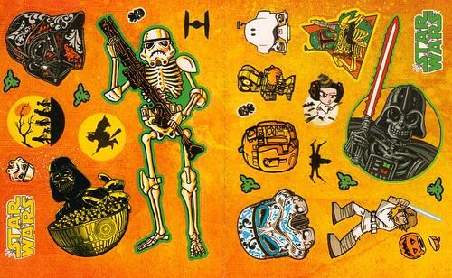 Star Wars Halloween Play Pack - Sticker sheet 2