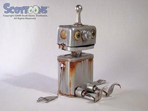 Image of Rusty the Boy Robot