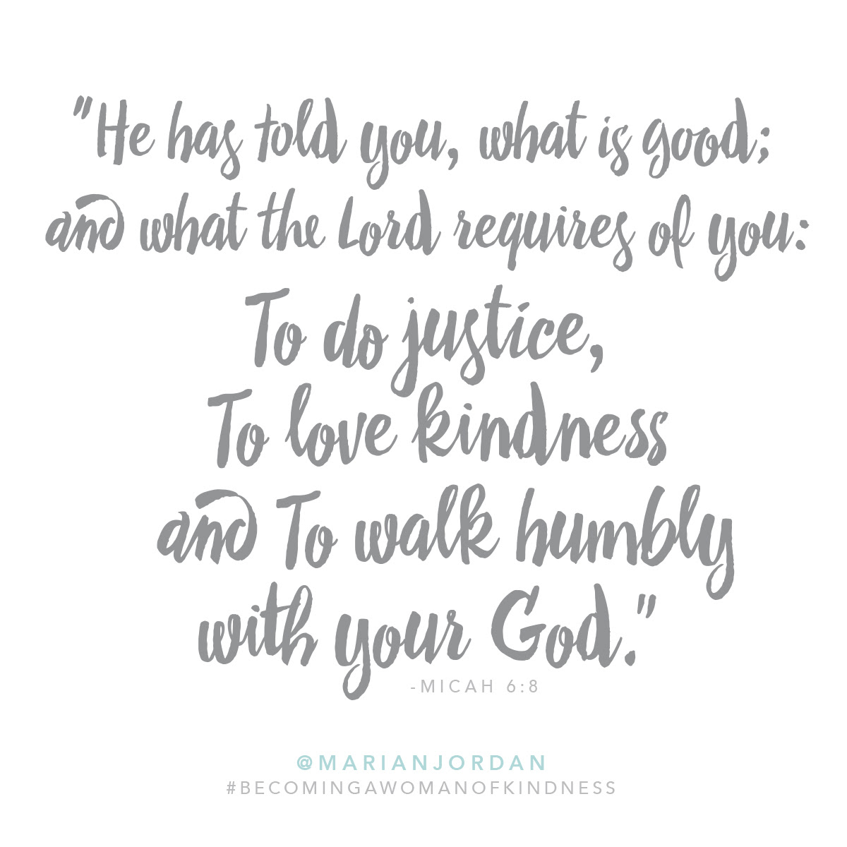 Becoming A Woman Of Kindness Redeemed Girl