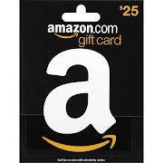 Amazon Gift Card, $25