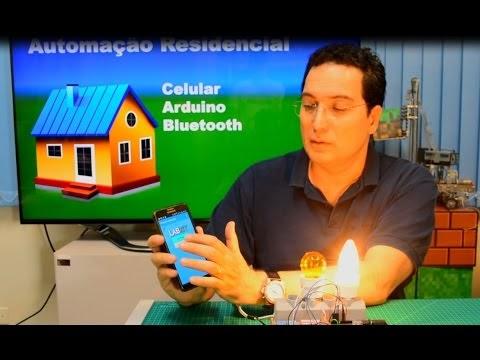 Automação Residencial com Celular, Arduino, e Bluetooth