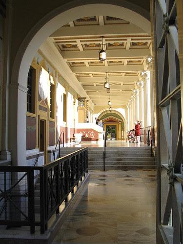 Getty Villa promenade