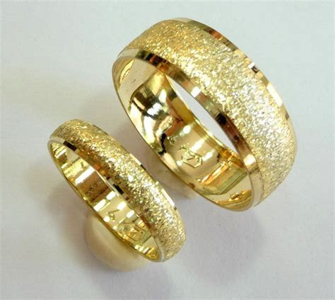 Wedding bands set wedding rings woman mens wedding band