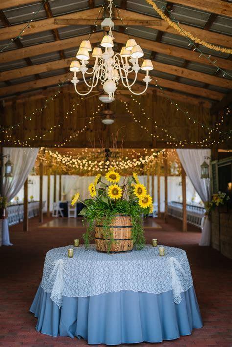 Sunflower Southern Wedding   Rustic Wedding Chic