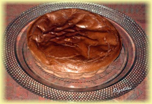 PASTEL DE TOFU Y CHOCOLATE