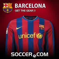 FC Barcelona Gear at SOCCER.COM