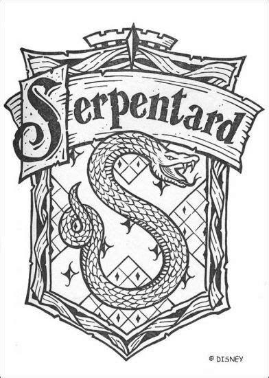 logo serpentard en francais maiis sens couleurs