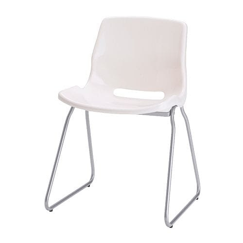 SNILLE Visitor chair - white - IKEA