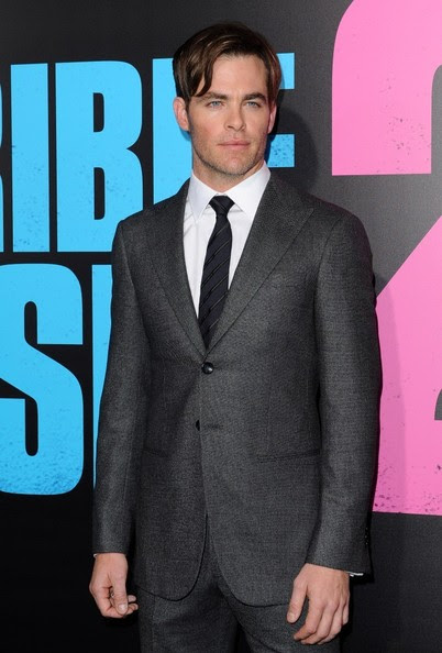 Chris Pine - 'Horrible Bosses 2' Premiere