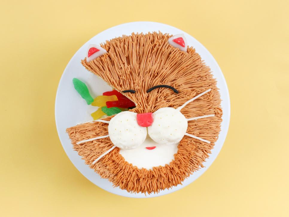 How to Make The Cutest-Ever Cat Cake   Everyday ...