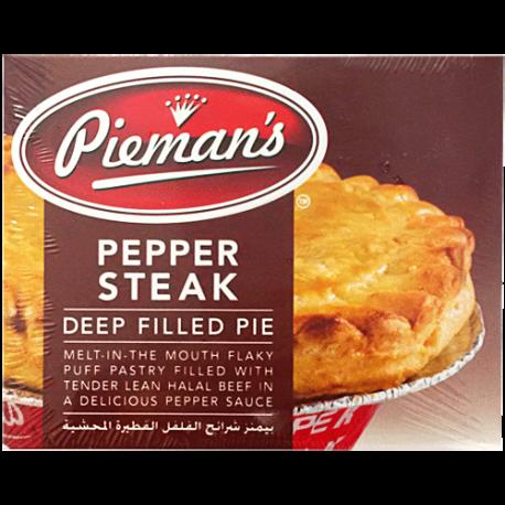 Pieman's Pepper Steak Deep Filled Pie 185g from SuperMart.ae