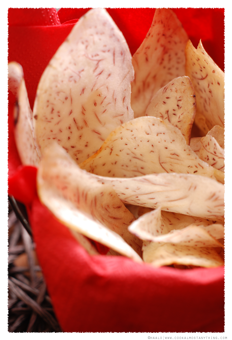 taro chips© by Haalo