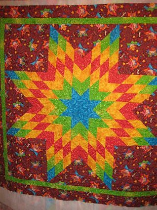 Mom's Star Quilt