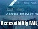 Accessibility FAIL button