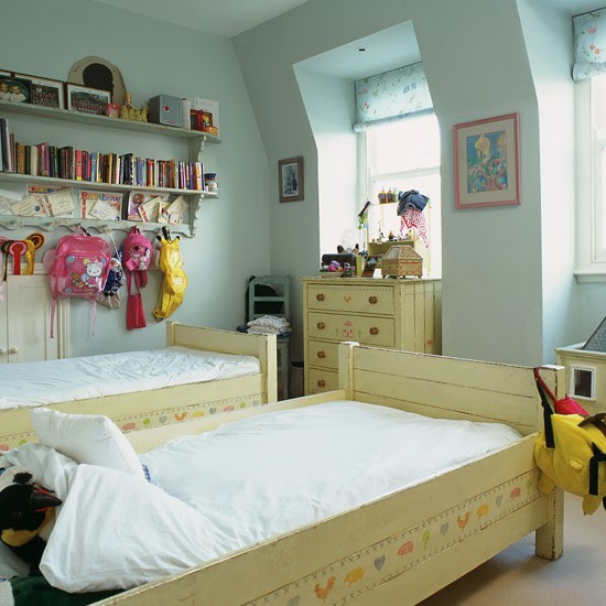 Cool blue girl's bedroom | Girls' bedrooms - 10 stylish ideas ...