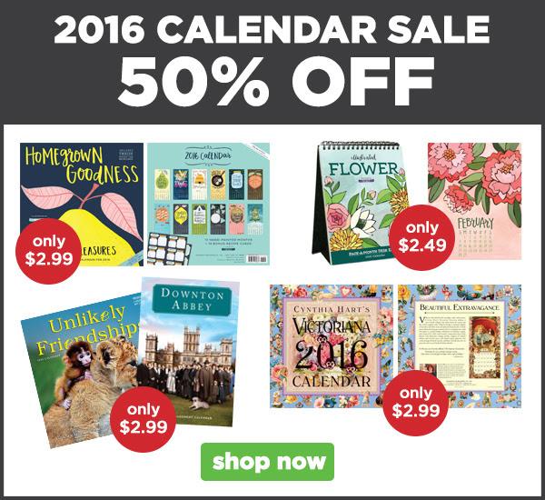 Calendar Sale