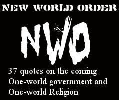 New World Order: 37 NWO quotes