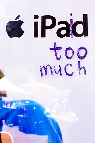 """iPaid too much"""