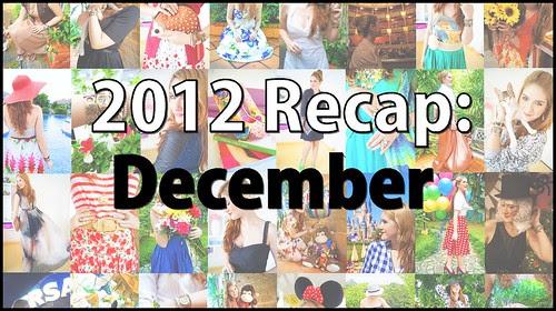 12 Dec 31 - Year Recap - 12 Dec