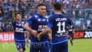 Indosport - Esteban Vizcarra dan Cristian Gonzales, masih berpengaruh besar terhadap skema permainan Arema.
