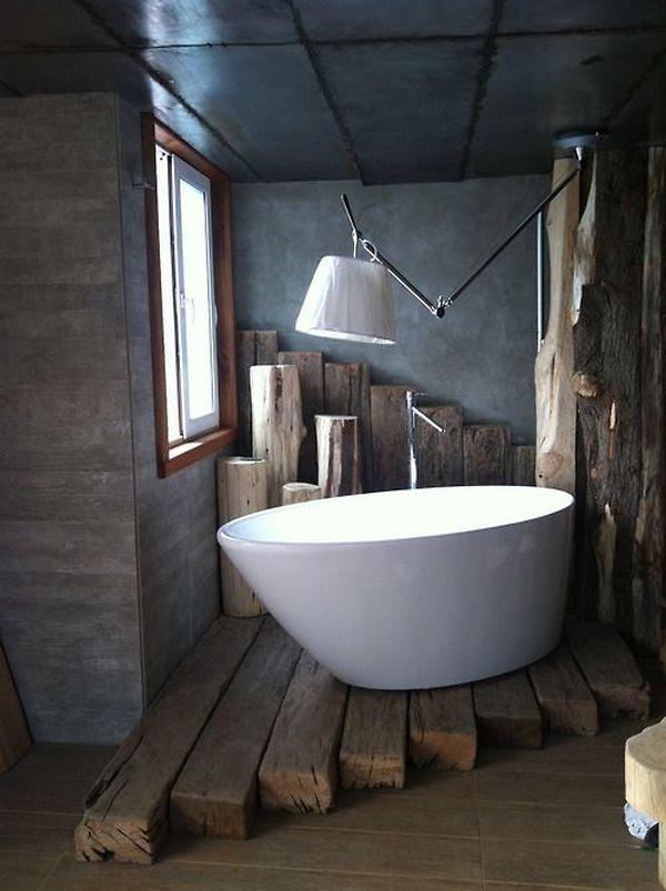 wood-beams-floor-under-bathtub-bathroom-rustic-design ...