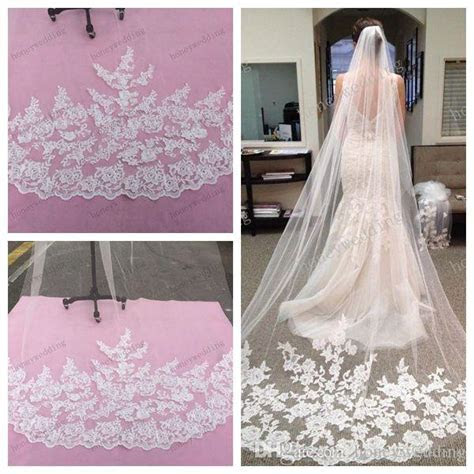 2015 Bridal Accessories Wedding Dresses Veils White Ivory