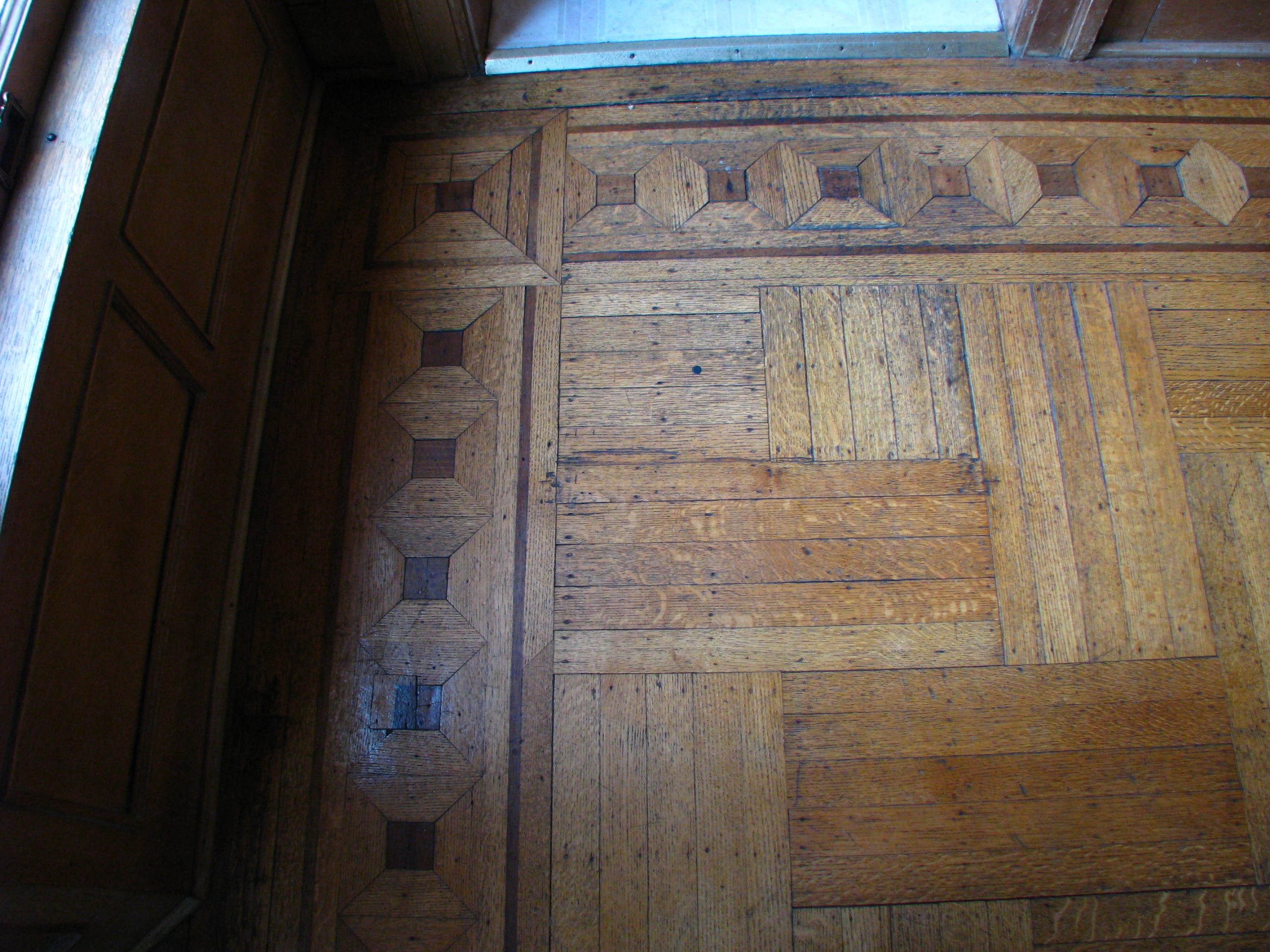 Parquet Floors with Inlays - Year 1904