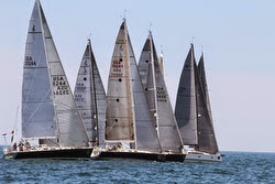 J/122 sailing New York YC Annual Regatta