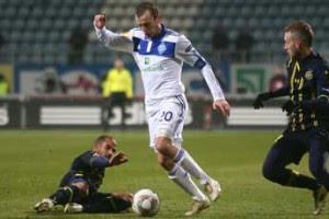 Благодаря таким игрокам, как Олег Гусев, после игры Динамо не было чувства обреченности