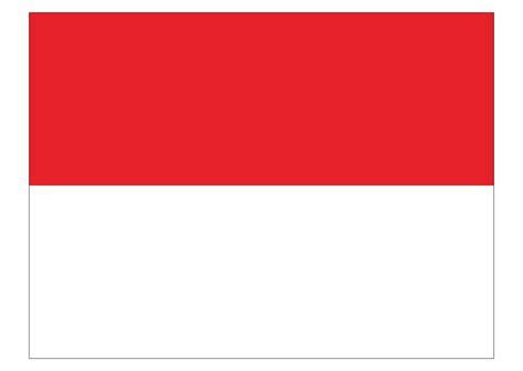republic  indonesia flag logo vector format cdr ai