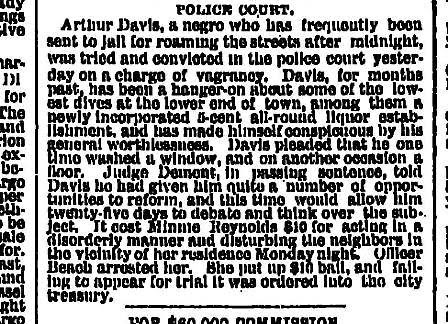 Police Court May 19 1886 Oregonian