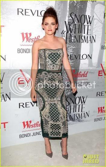 Kristen Stewart 'Snow White' Sydney Premiere Fashion Style