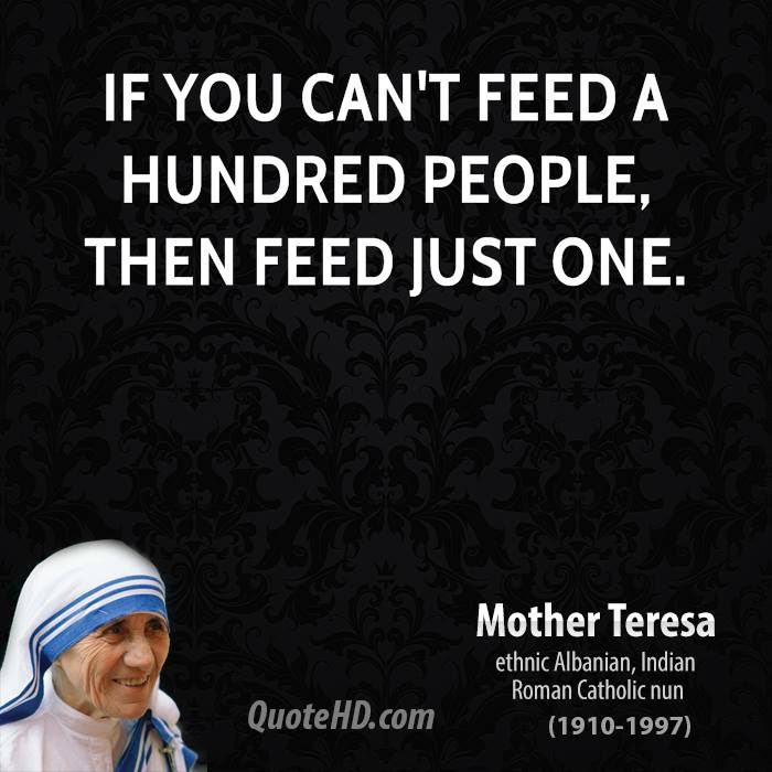 Mother Teresa Quotes On Charity. QuotesGram