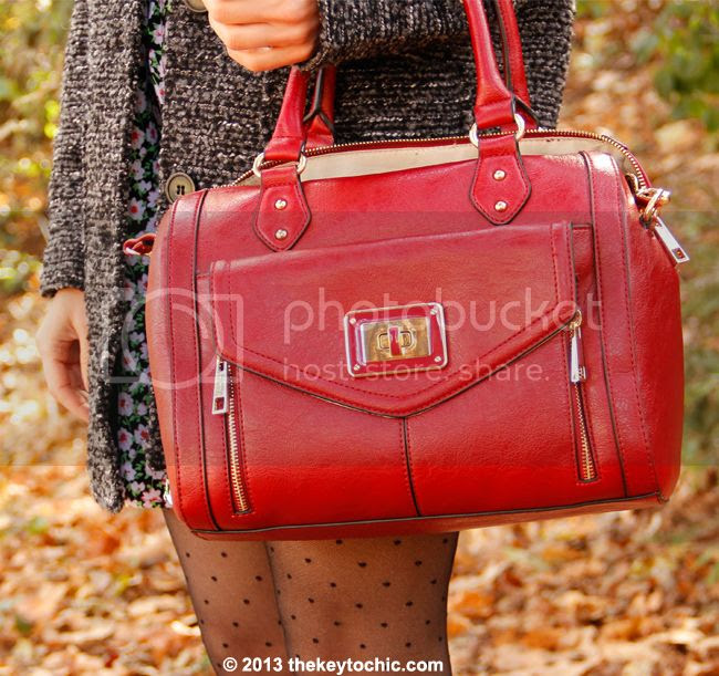 Aldo red Deniken handbag